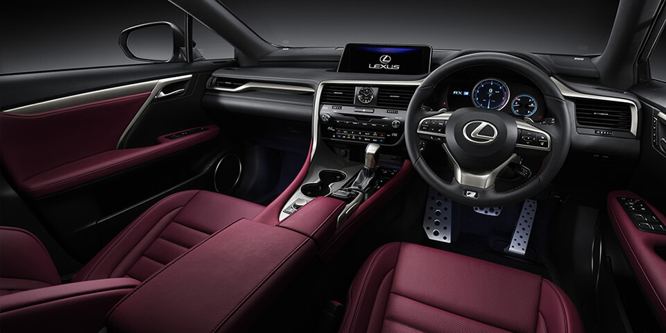 Lexus Rx F Sport Red Interior