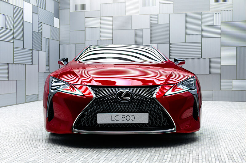 lexus lc 500 awarded 2016 production car design of the year. Black Bedroom Furniture Sets. Home Design Ideas